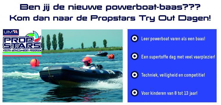 Propstars - Word jij de nieuwe powerboat-baas