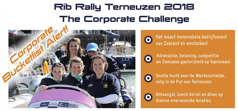 Rib Rally Terneuzen 2018 - The Corporate Challenge