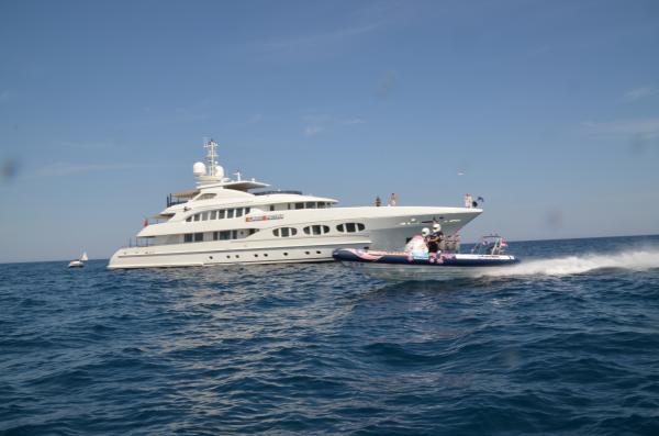 Rib at Heesen Yacht