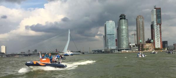 Rotterdam Rib Rally Volvo Ocean Race Scheveningen